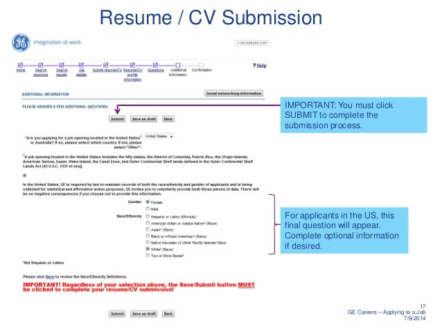 how to apply resumes