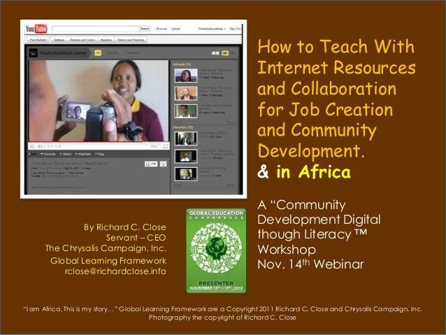 How to Teach With                                                                         Internet Resources              ...