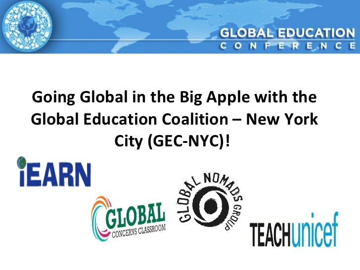 Going Global in the Big Apple with the Global Education Coalition – New York City (GEC-NYC)!