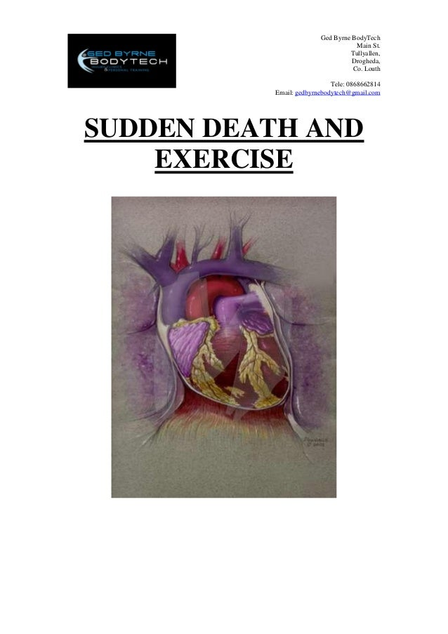 Sudden Death & Exercise Information