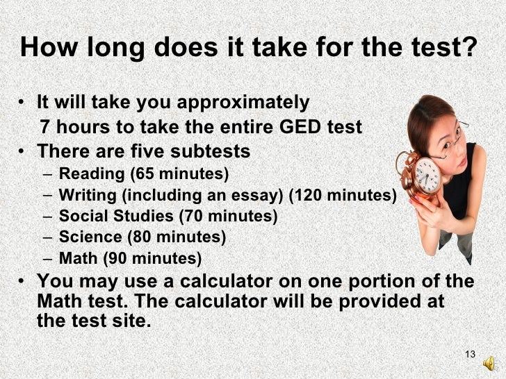 Practice questions for ged essay