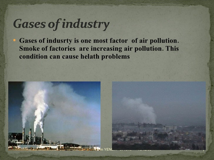 steps towards an ecosociety dealing with air pollution
