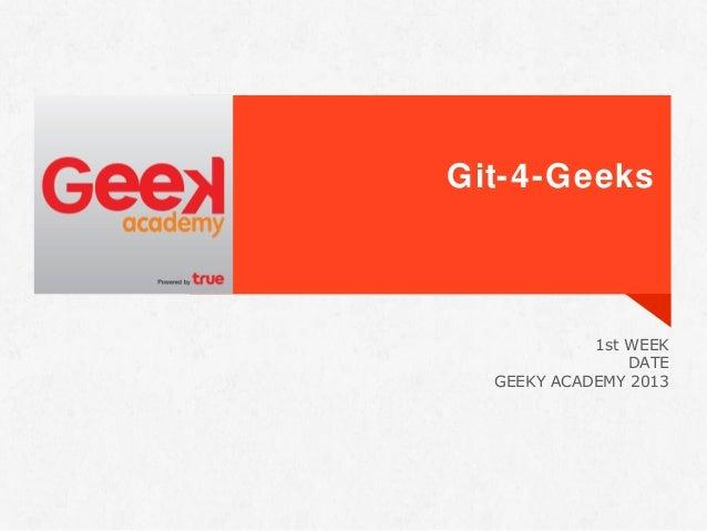 Geek git