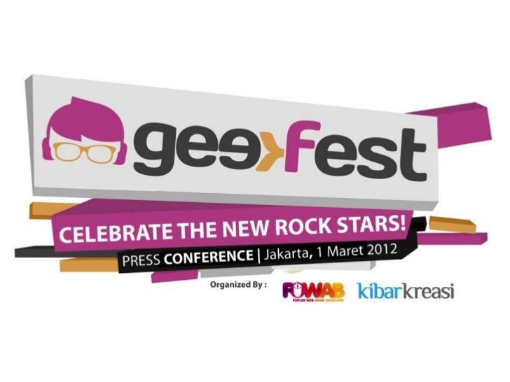 Geekfest  Indonesia 2012