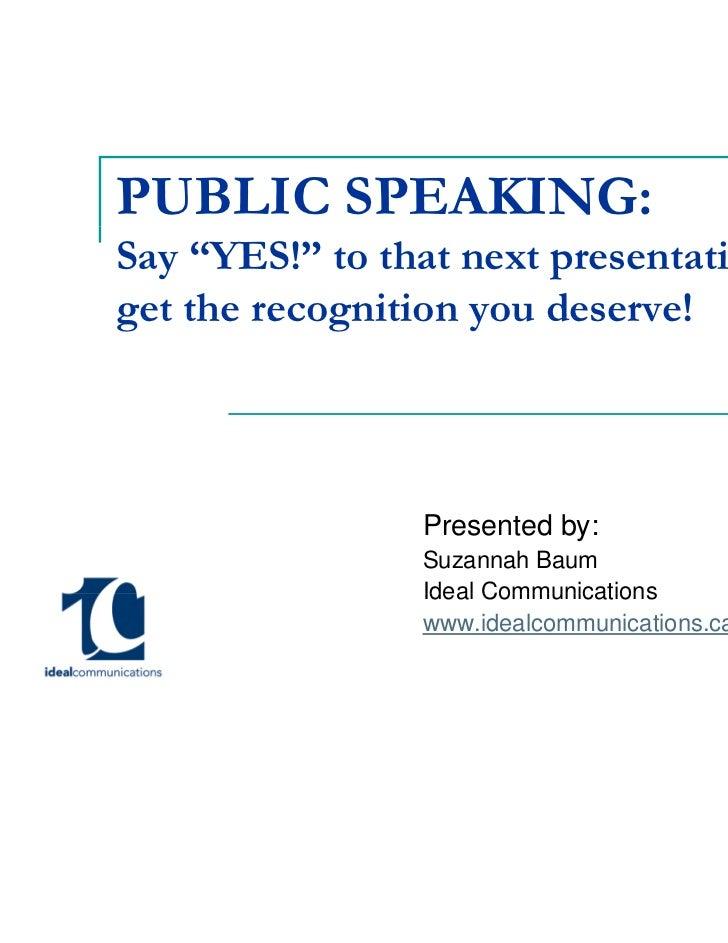 Montreal Girl Geeks Public Speaking Workshop