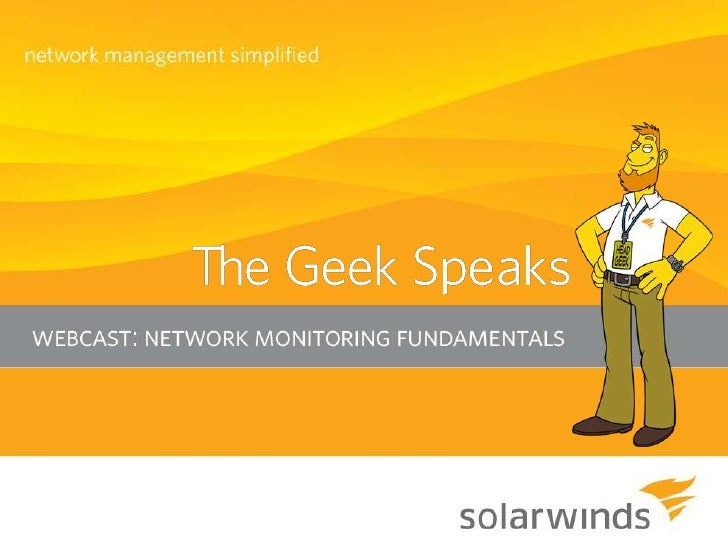 """Introduction  A big """"Howdy"""" from SolarWinds®   based in Austin, Texas   » Josh Stephens - Head Geek, Monster Blogger, and..."""