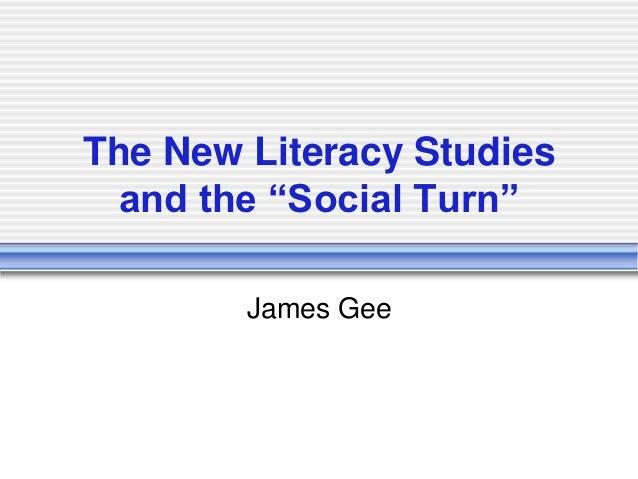 Gee, James Paul