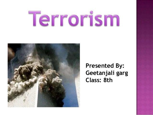terrorism by aamish garg