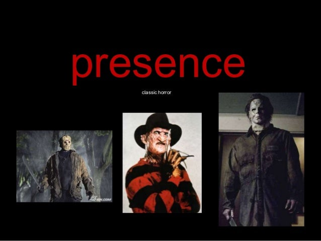 presence classic horror