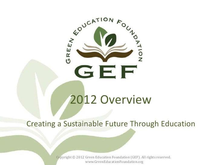 GEF Overview
