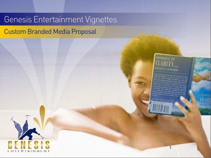 Genesis Entertainment Multicultural Program