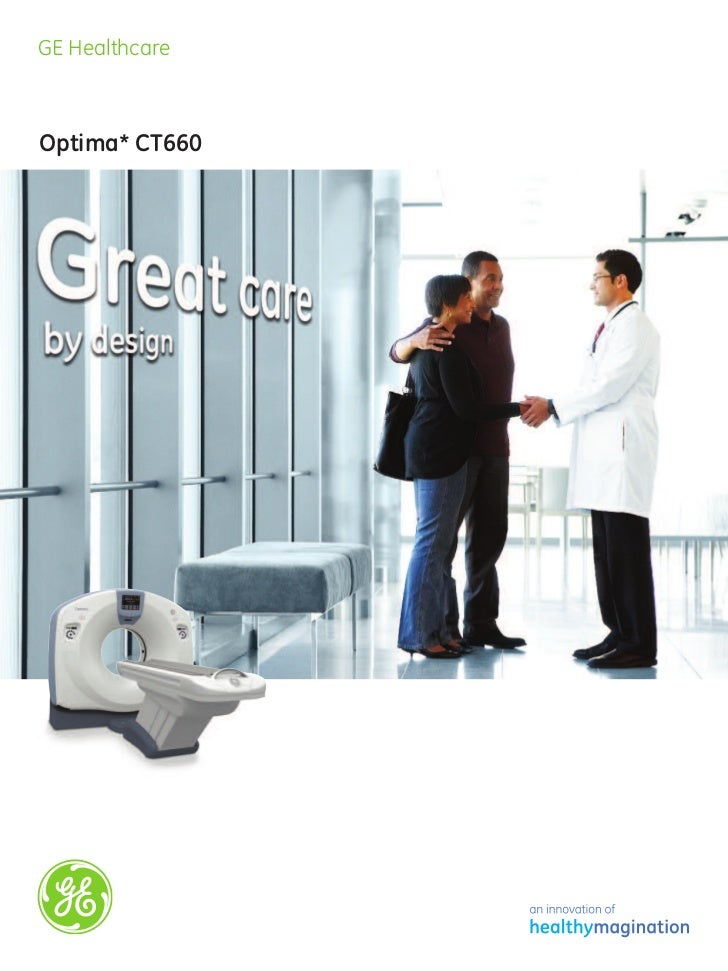 GE Healthcare  Optima CT660