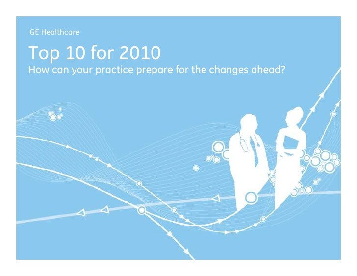 Ge Healthcare Top 10 For 2010