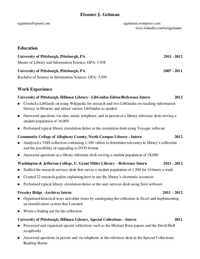 how does a resume look like