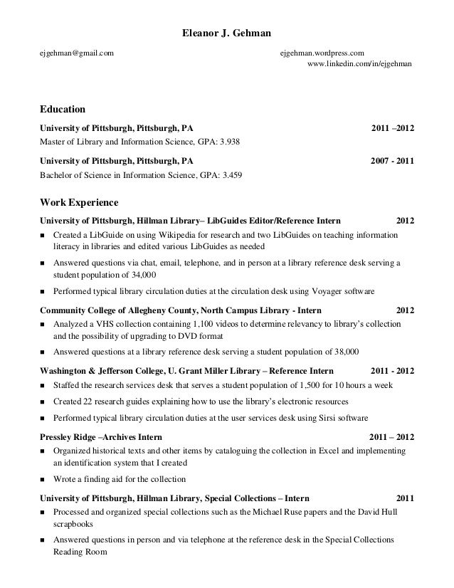 Graduating Student Resume Examples