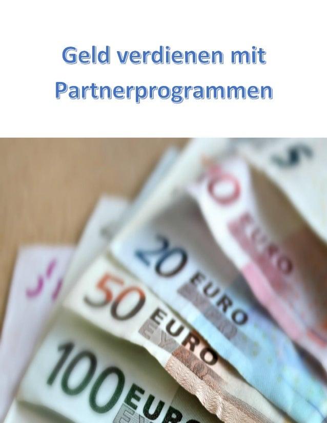 Geld verdienen mit Partnerprogrammen – kann man mit Affiliate Marketing Geld verdienen?  Einkaufen im Internet wird immer ...