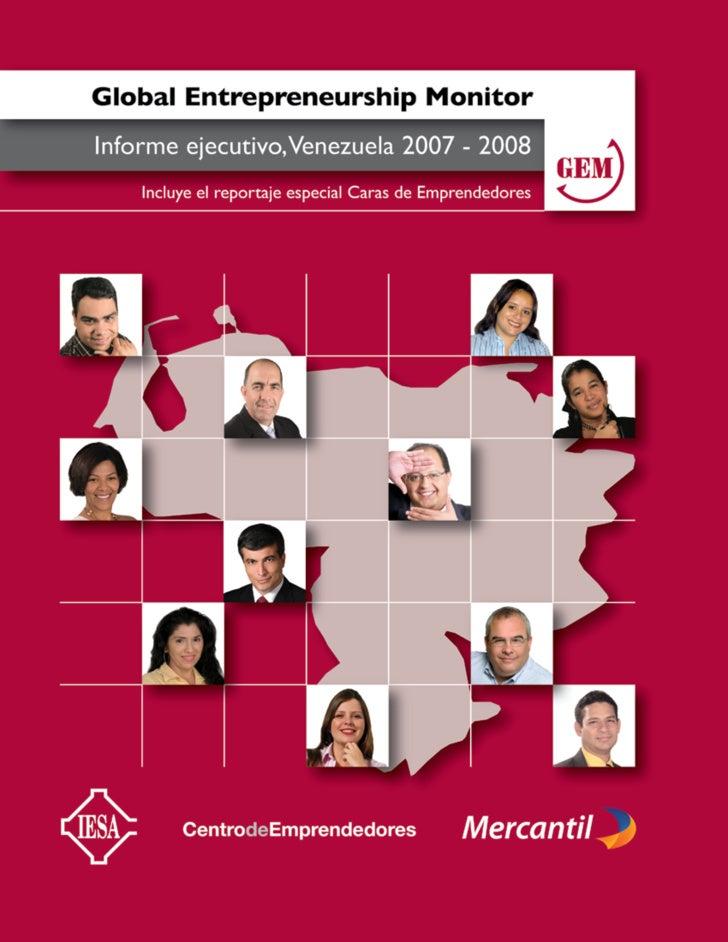 Gem 2007 2008 Venezuela Iesa