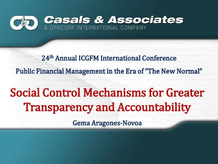 """24th Annual ICGFM International Conference<br />Public Financial Management in the Era of """"The New Normal""""<br />Social Con..."""