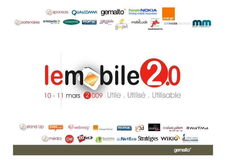 Gemalto Le Mobile 2.0 Edition 2009
