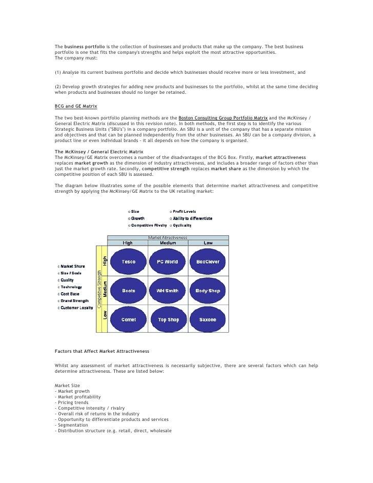 Strategic Mgt Tools