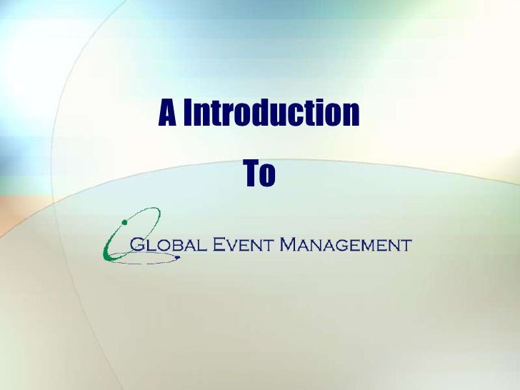 Gem Business Presentation
