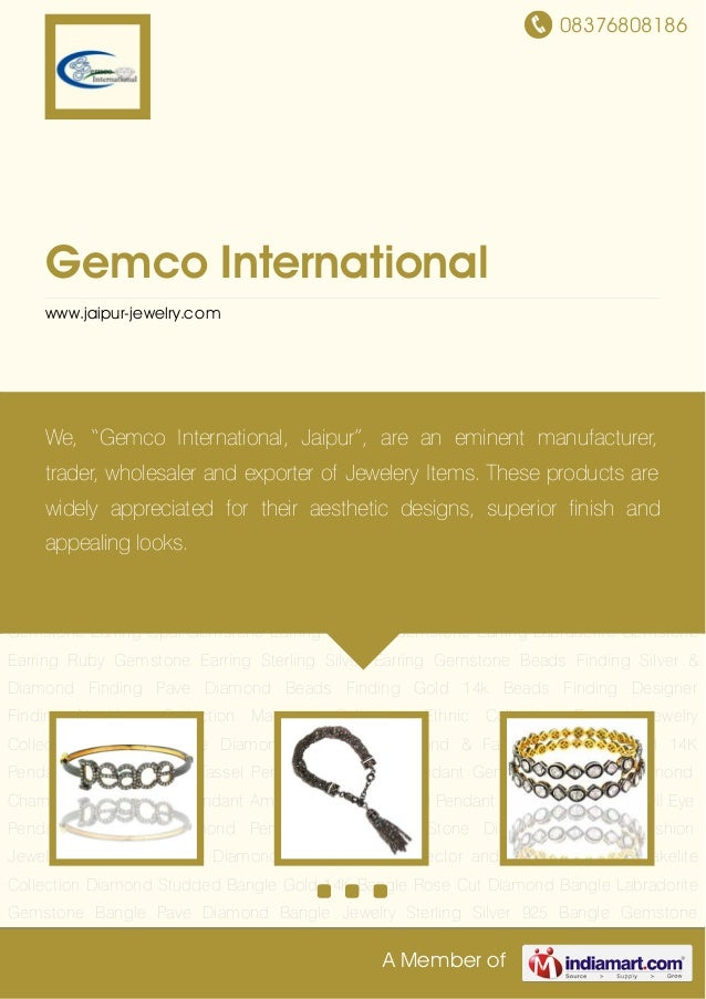 08376808186A Member ofGemco Internationalwww.jaipur-jewelry.comDiamond Studded Bangle Gold 14K Bangle Rose Cut Diamond Ban...