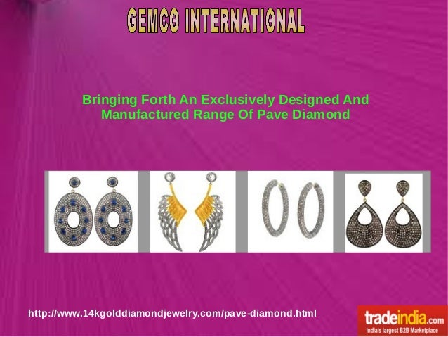 Bringing Forth An Exclusively Designed And Manufactured Range Of Pave Diamond http://www.14kgolddiamondjewelry.com/pave-di...