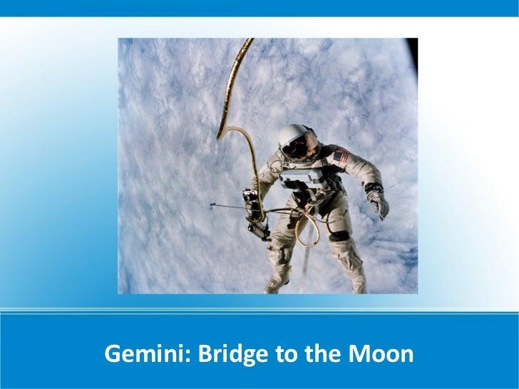 Gemini: Bridge to the Moon