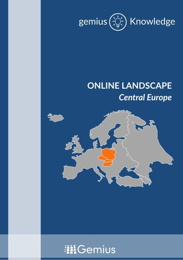 Online Landscape in Central Europe by Gemius