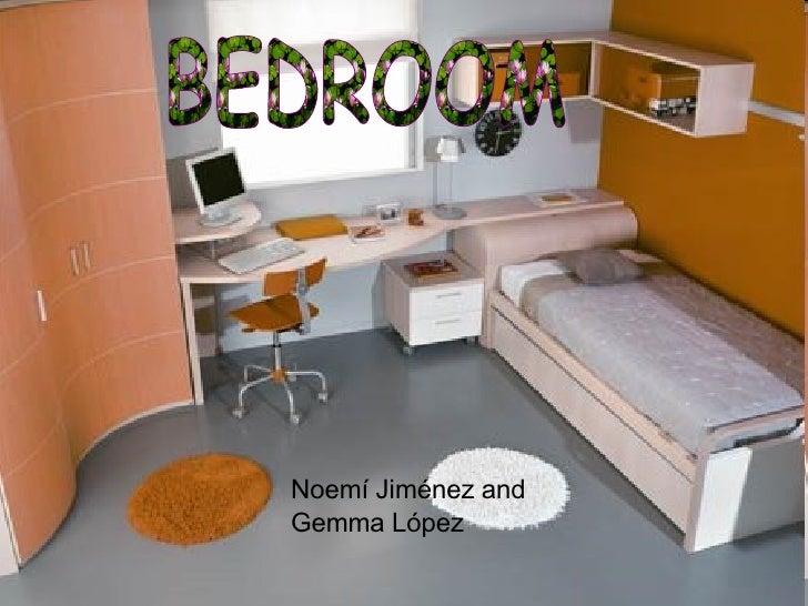 BEDROOM Noemí Jiménez and Gemma López