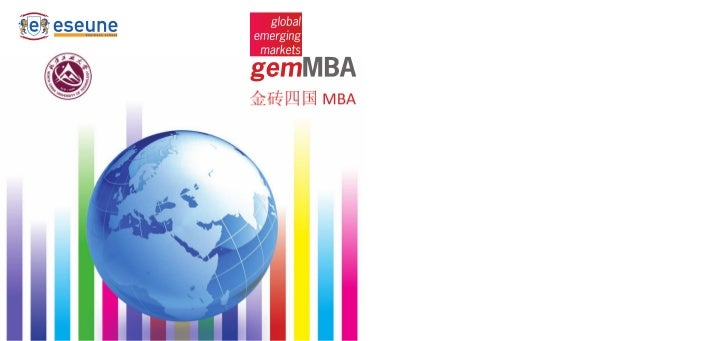 Global Emerging Markets MBA
