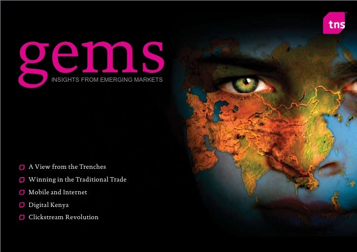 gems   INSIGHTS FROM EMERGING MARKETS     A View from the Trenches Winning in the Traditional Trade Mobile and Internet Di...