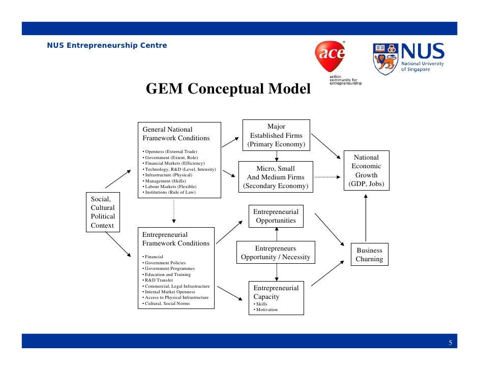 frameworks of entrepreneurship In all conceptual frameworks, the basic assumptions have remained unchanged: entrepreneurial activity is not a heroic act of an individual, regardless of the environment in which the activity is performed.