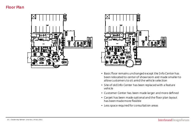 Rushmore honda upgrade for Barclays floor plan