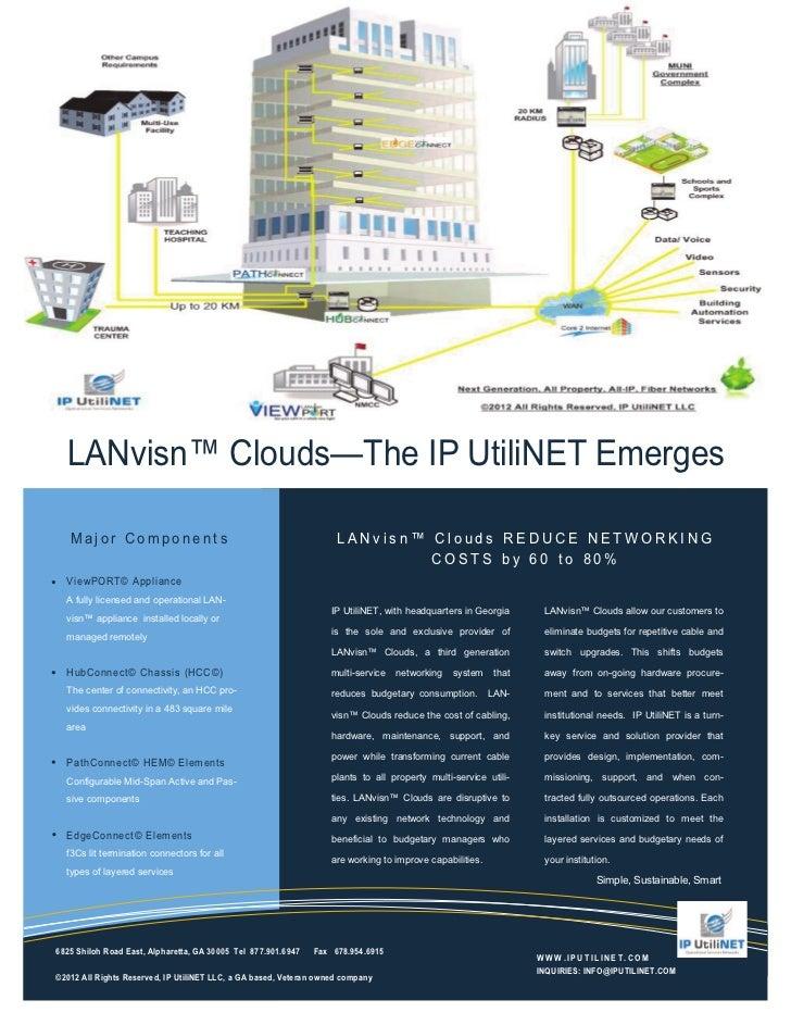 Gen3 LANvisn™ Clouds Flyer