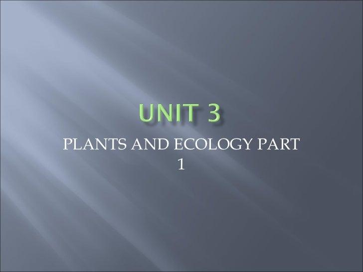 Gen bio unit 3 part 1