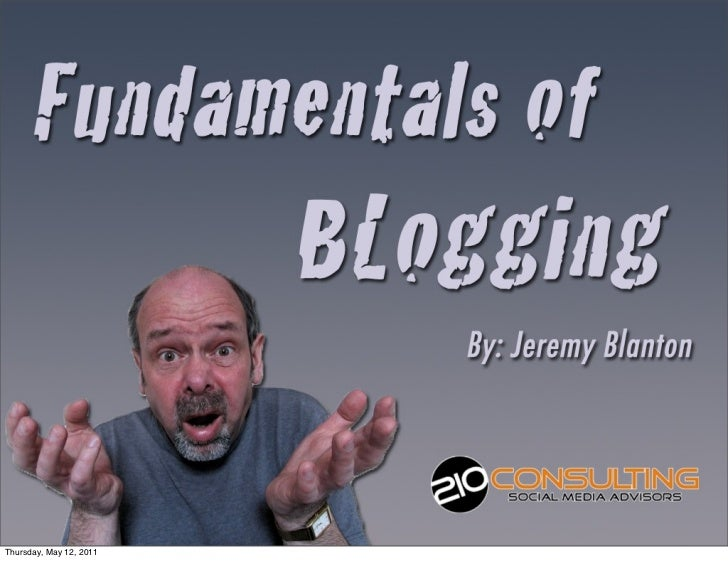5 Keys to Successful Blogging