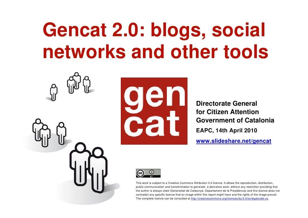 Gencat 2 0 EN