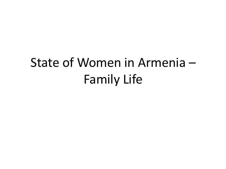 Gender in Armenia
