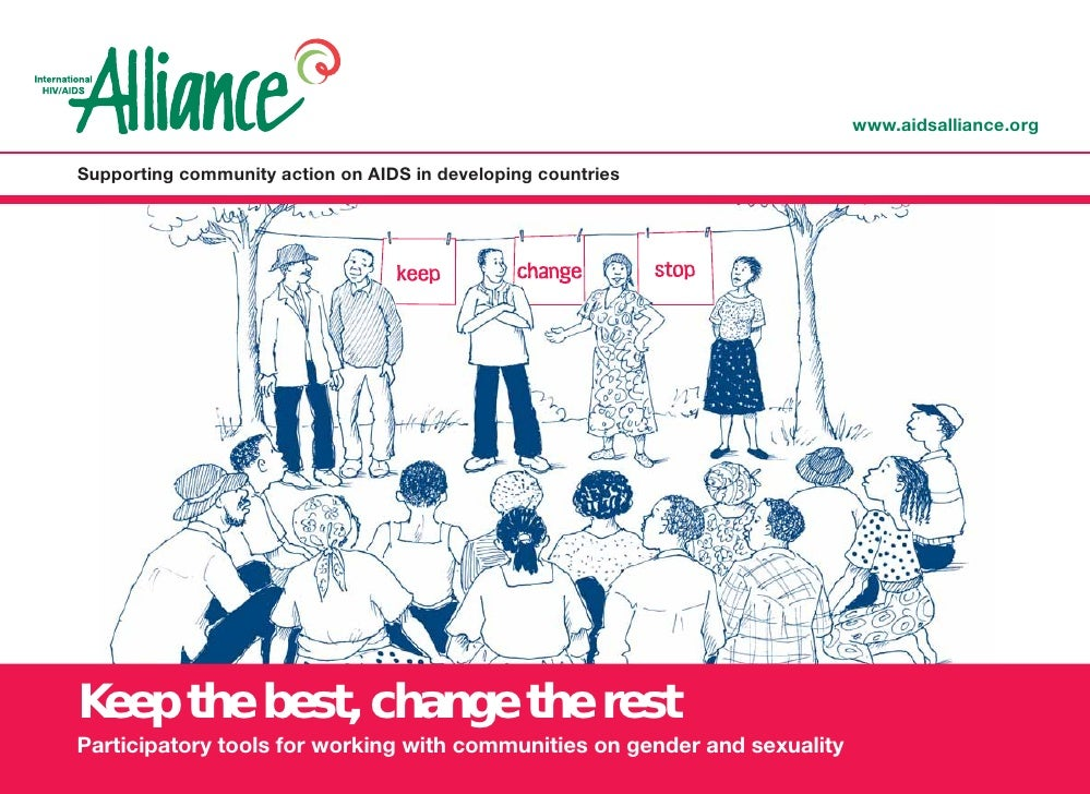 www.aidsalliance.org  Supporting community action on AIDS in developing countries     Keep the best, change the rest Parti...