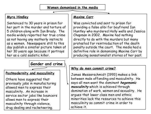 "gender and crime essay Gender and crime order description module title: gender and crime word limit: 3000 + /-10% referencing style: harvard referencing assignment question: ""when convicted of a crime, the sentences handed down to men and women should take account of their gender."