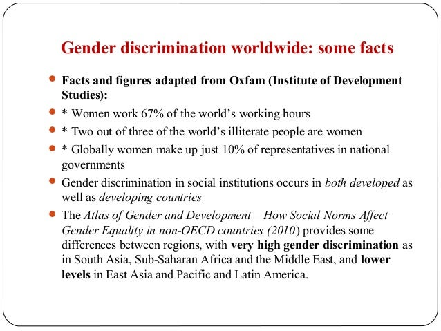Essay Gender Equality