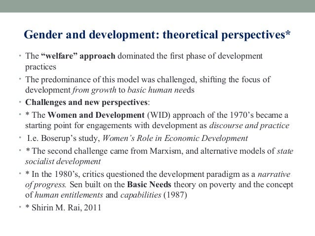 theoretical approaches to development a Theoretical perspectives for developmental education a selectionist approach to developmental education the development of.