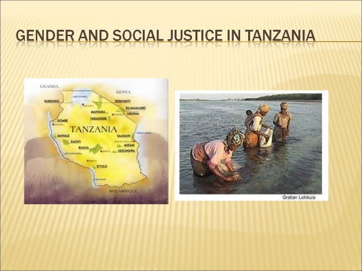 Gender and Social Justice in Tanzania