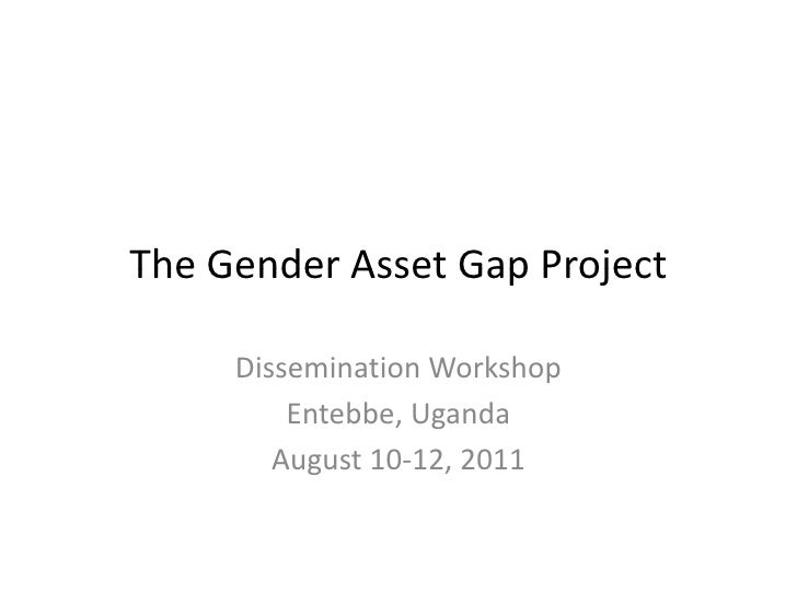 The Gender Asset Gap Project