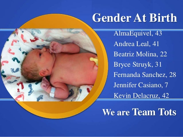 Gender atbirth present