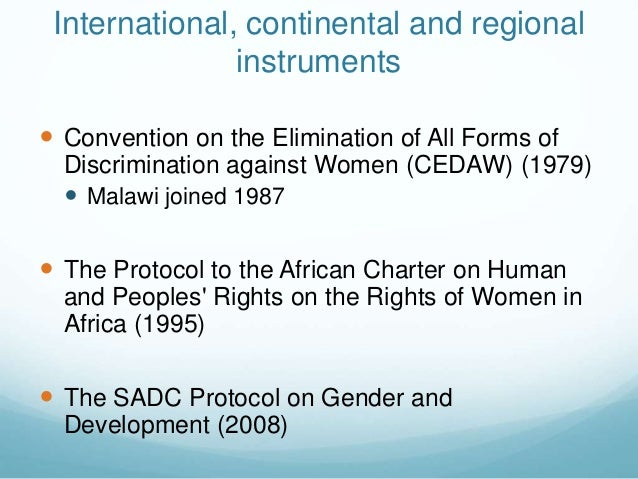 an analysis of the inter american convention on the elimination of all forms of discrimination