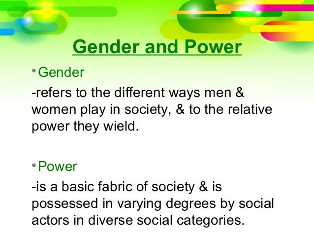gender discrimination and growth theory and Symbolic interaction theory is very useful to those seeking to understand the social significance of sex and gender the powerful force that gender exerts on us is especially visible when one considers interactions between adults and infants.