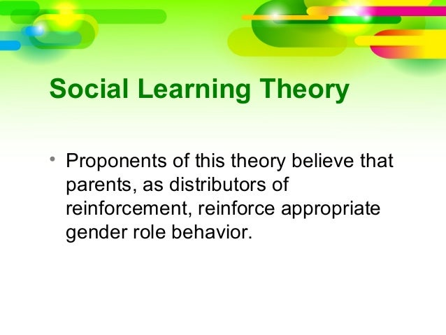 gender development social or biological Social cognitive theory of gender development and differentiation self-development and bring about social changes that define and biological and sociological.