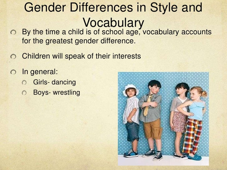 gender differences essay In today's society sex and gender seem to have two separate connotative meanings sex is a more scientific term that explains physical traits and sexual.